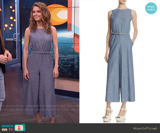 Alice + Olivia Everly Jumpsuit worn by Maria Menounos on E! News
