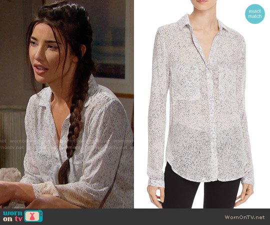 Bella Dahl Hipster Shirt worn by Jacqueline MacInnes Wood on The Bold & the Beautiful