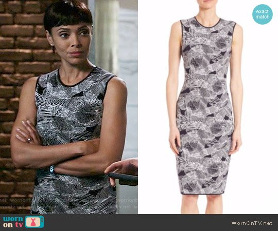 BOSS Fasome Dress worn by Tamara Taylor on Bones