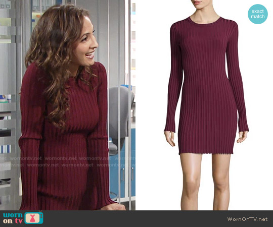 Elizabeth & James Penny Dress worn by Christel Khalil on The Young & the Restless