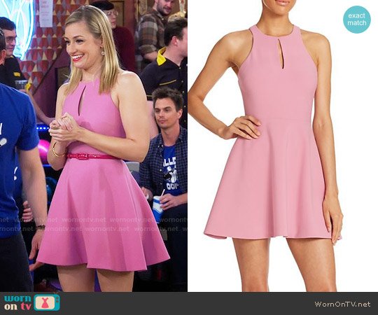 Elizabeth & James Scout Dress worn by Beth Behrs on 2 Broke Girls