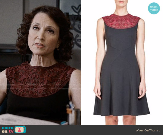 Erdem Lorna Dress worn by Bebe Neuwirth on Madam Secretary
