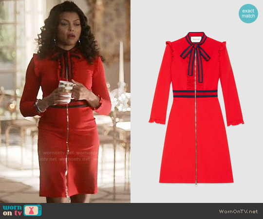 Gucci Viscose Jersey Dress worn by Taraji P. Henson on Empire