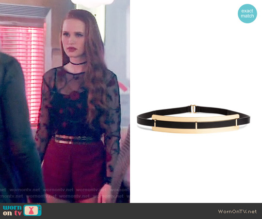 H&M Waist Belt worn by Cheryl Blossom on Riverdale