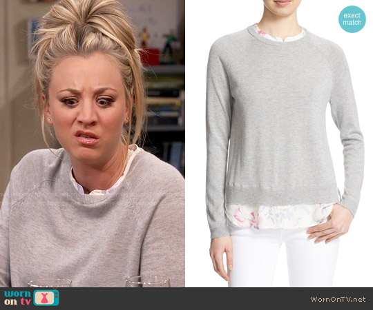 Joie Zaan Sweater worn by Kaley Cuoco on The Big Bang Theory