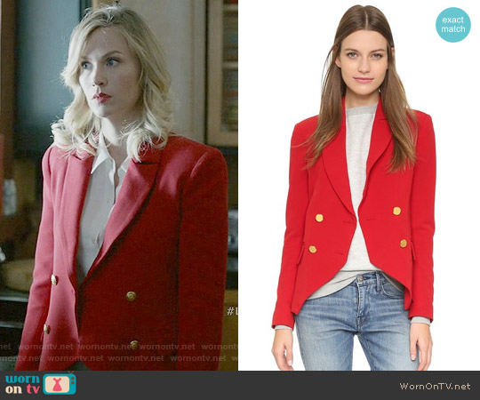 Laveer Kadette Blazer worn by Melissa Shart (January Jones) on Last Man On Earth