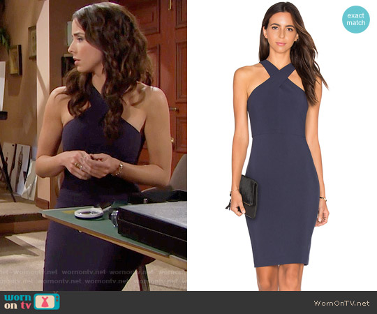 Likely Carolyn Dress worn by Ashleigh Brewer on The Bold & the Beautiful