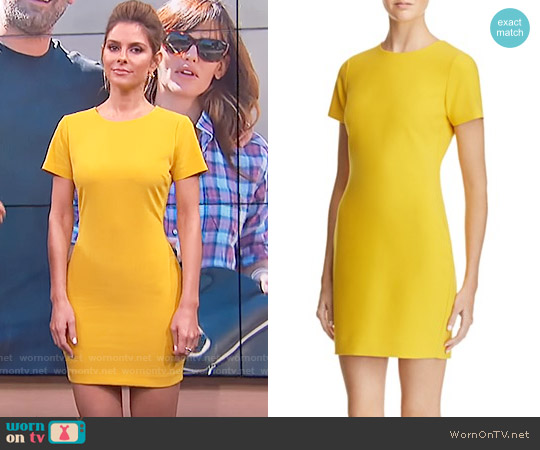 Likely Manhattan Dress in Canary worn by Maria Menounos on E! News