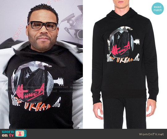 Maison Margiela Graphic Hoodie worn by Andre Johnson (Anthony Anderson) on Blackish