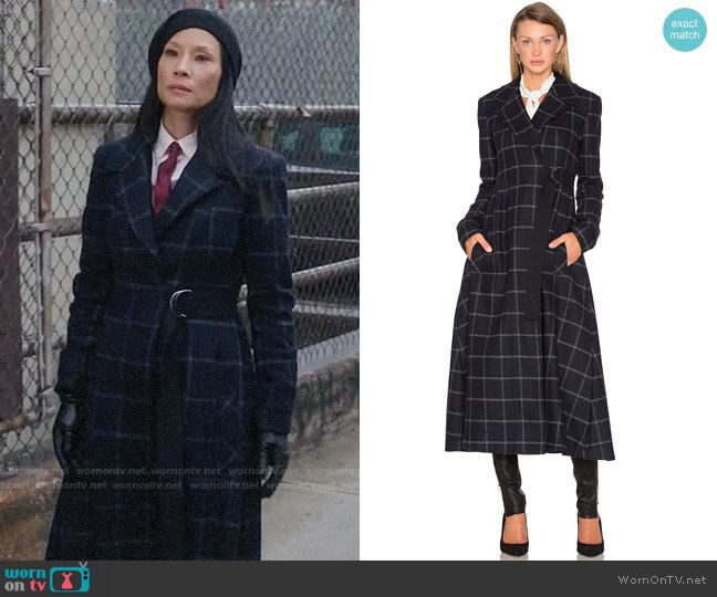 Marissa Webb Feria Coat worn by Lucy Liu on Elementary