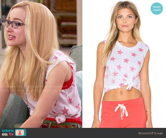 Nation Ltd Camden Stars Tank worn by Maddie Rooney (Dove Cameron) on Liv & Maddie