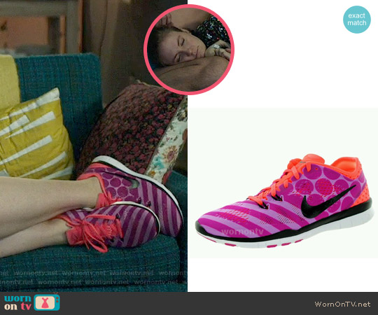 Nike Polka Dot and Stripe Sneakers worn by Hannah Horvath on Girls