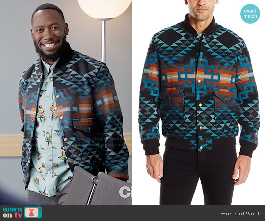 Pendleton Gorge Jacket worn by Lamorne Morris on New Girl