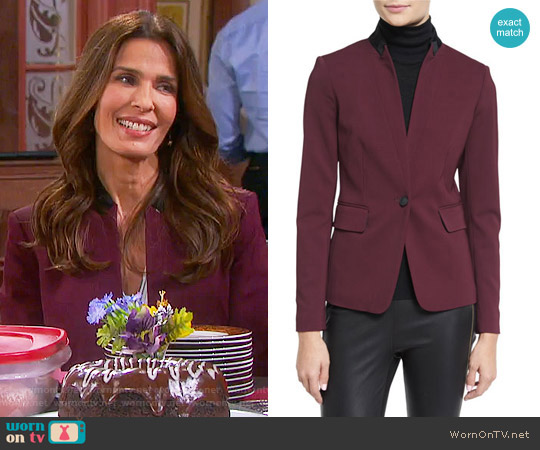 Rag & Bone Archer Blazer worn by Hope Williams (Kristian Alfonso) on Days of our Lives