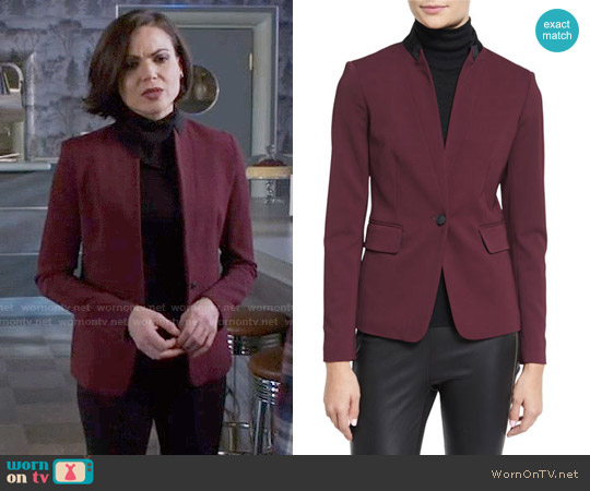 Rag & Bone Archer Blazer worn by Regina Mills (Lana Parrilla) on OUAT
