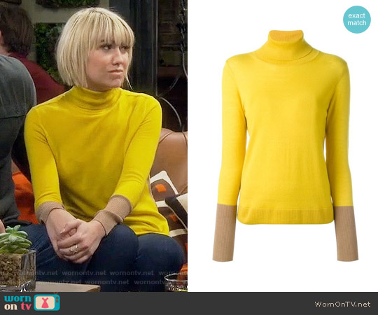 Rag & Bone Jessica Turtleneck Sweater worn by Chelsea Kane on Baby Daddy