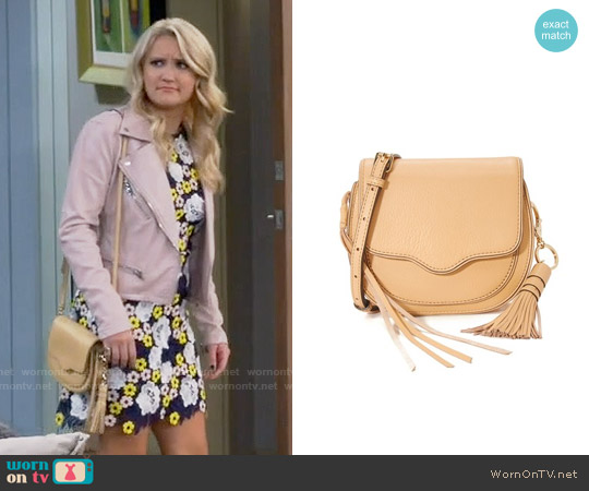 Rebecca Minkoff Mini Suki Bag worn by Gabi Diamond on Young & Hungry