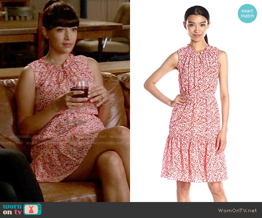 Rebecca Taylor Provence Dress worn by Hannah Simone on New Girl