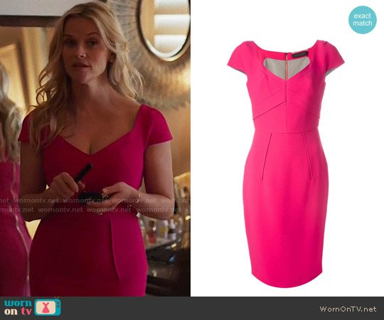 Roland Mouret Casson Dress worn by Madeline Martha Mackenzie (Reese Witherspoon) on Big Little Lies