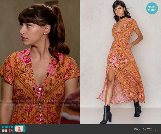 Spell Babushka Gown worn by Hannah Simone on New Girl