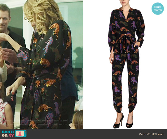 Stella McCartney Wildcat Jumpsuit worn by Laura Dern on Big Little Lies