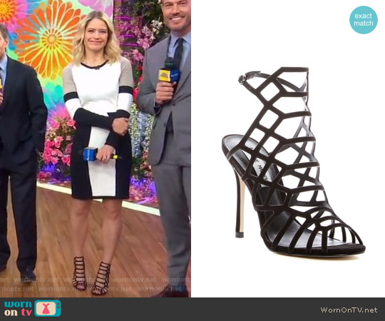 Steve Madden Slithur Sandals worn by Sara Haines on Good Morning America