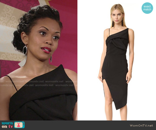 Talulah Elodie Dress worn by Hilary Curtis (Mishael Morgan) on The Young & the Restless
