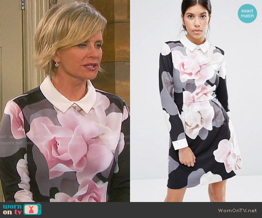 Ted Baker Lascii Dress worn by Mary Beth Evans on Days of our Lives