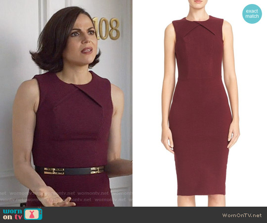 Ted Baker Tarala Dress worn by Lana Parrilla on OUAT