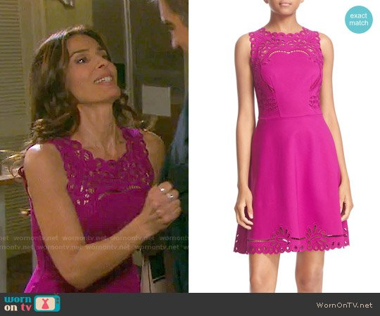 Ted Baker Verony Dress worn by Kristian Alfonso on Days of our Lives