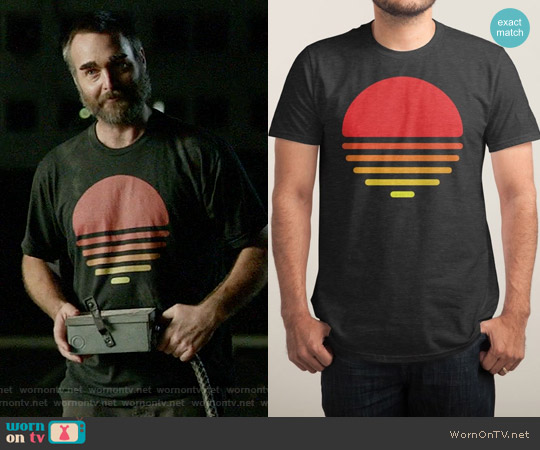 Threadless Summer T-shirt worn by Will Forte on Last Man On Earth