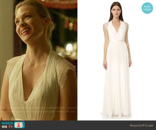 Catherine Deane Laverne Gown worn by Melissa Shart (January Jones) on Last Man On Earth