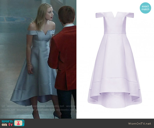Forever New Willow Bardot Hi-Lo Prom Dress worn by Lili Reinhart on Riverdale