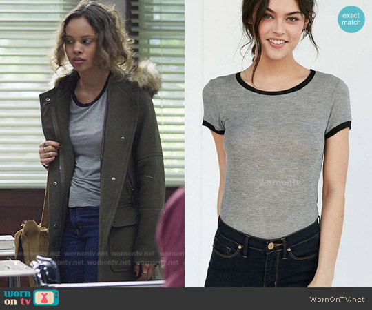 Project Social Molly Ringer Tee worn by Alisha Boe on 13 Reasons Why