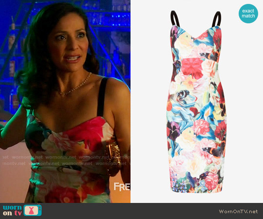 Ted Baker Doona Dress worn by Constance Marie on Switched at Birth