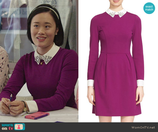 Ted Baker Moona Dress worn by Courtney Crimsen (Michele Selene Ang) on 13 Reasons Why