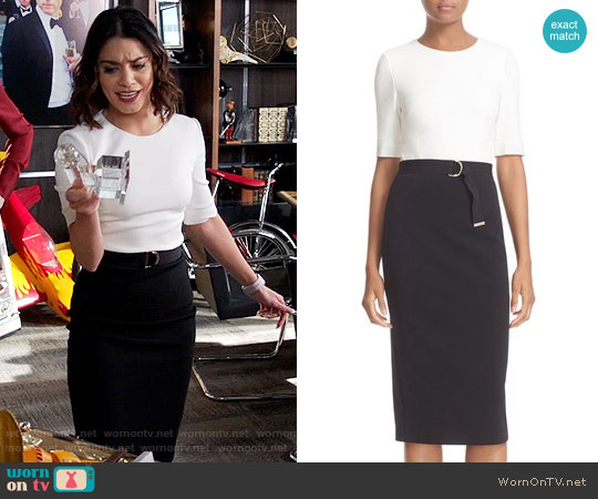 Ted Baker Wandee Dress worn by Vanessa Hudgens on Powerless