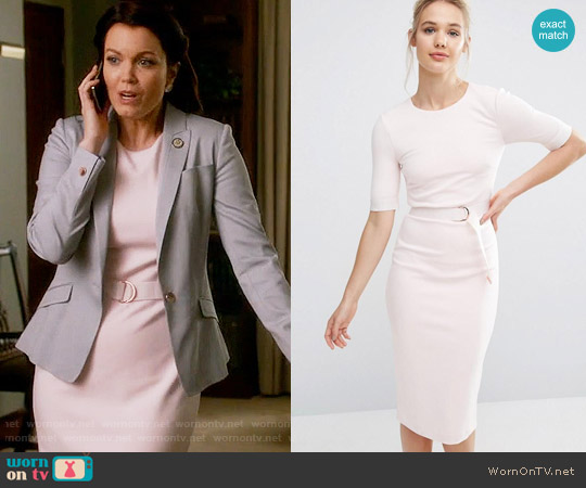 Ted Baker Wandee Dress worn by Mellie Grant (Bellamy Young) on Scandal