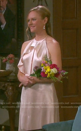 Abigail's vow renewal dress on Days of our Lives
