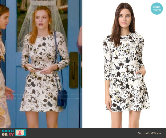 ALC Terry Dress worn by Bella Thorne on Famous in Love