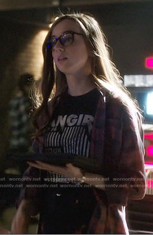 Alena's fangirl tee on Arrow