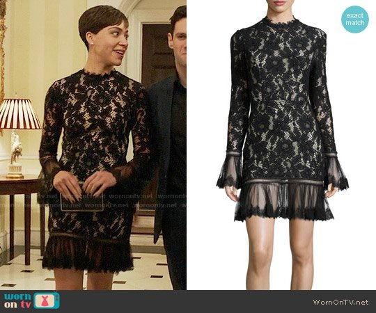 Alexis Nicole Lace Dress worn by Lucca Quinn (Cush Jumbo) on The Good Fight