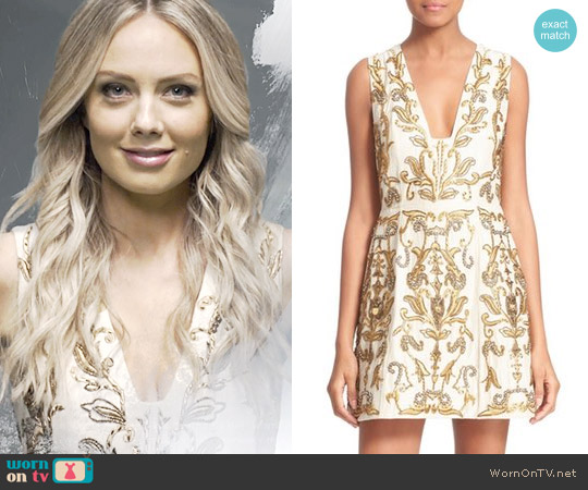 Alice + Olivia Prescilla Dress worn by Abby Newman (Melissa Ordway) on The Young & the Restless