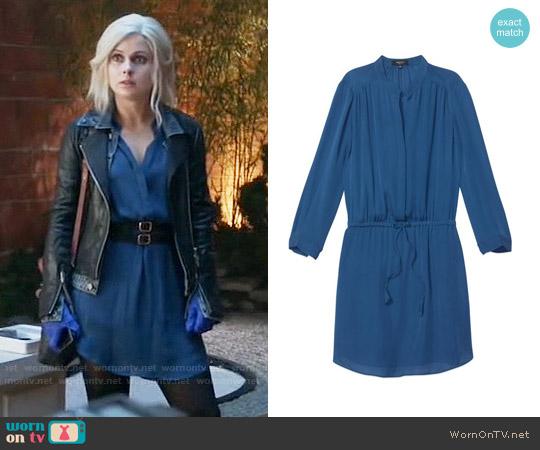Babaton Bennett Dress in Blue worn by Rose McIver on iZombie