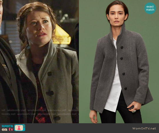 Babaton Maurice Coat worn by Emilie de Ravin on OUAT