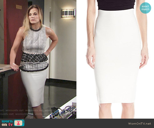 Bcbgmaxazria Leger Skirt worn by Phyllis Newman on The Young & the Restless