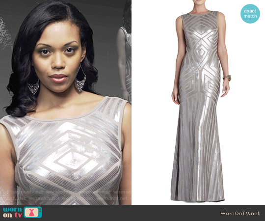 Bcbgmaxazria Agnes Dress worn by Hilary Curtis (Mishael Morgan) on The Young & the Restless
