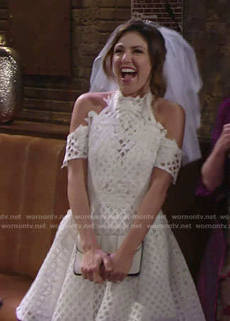 Chloe's bachelorette party dress on The Young and the Restless