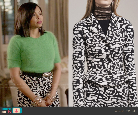 Christian Dioar Fall 2016 Leopard Print worn by Taraji P. Henson on Empire