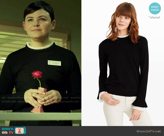 Club Monaco Ashta Sweater worn by Mary Margaret (Ginnifer Goodwin) on OUAT